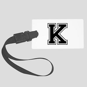 K-var black Luggage Tag