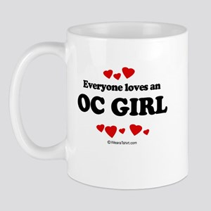 Everyone loves an OC girl Mug