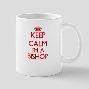 Keep calm I'm a Bishop Mugs