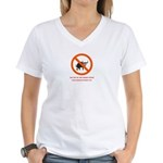 Nanny Knows Best Women's V-Neck T-Shirt