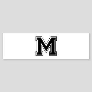 M-var black Bumper Sticker
