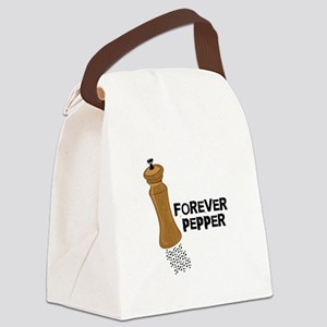 Forever Pepper Canvas Lunch Bag