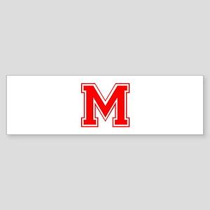 M-var red Bumper Sticker
