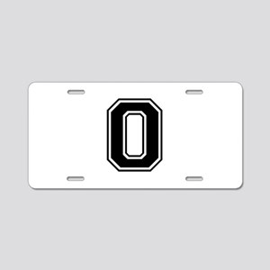 O-var black Aluminum License Plate