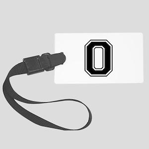 O-var black Luggage Tag