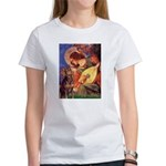 Mandolin Angel & Dobie Women's T-Shirt