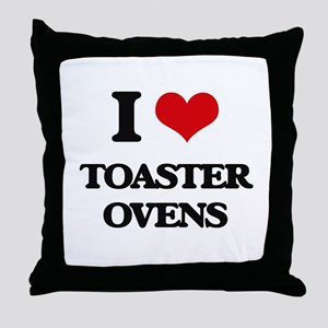 I love Toaster Ovens Throw Pillow
