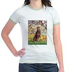 Spring / Doberman Jr. Ringer T-Shirt