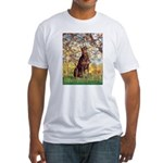 Spring / Doberman Fitted T-Shirt