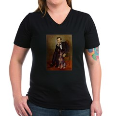 Lincoln's Red Doberman Shirt