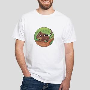 Charlie Chipmunk's White T-Shirt