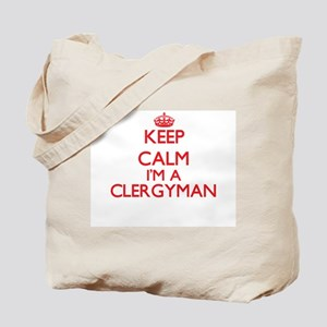 Keep calm I'm a Clergyman Tote Bag