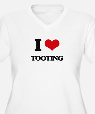 I love Tooting Plus Size T-Shirt