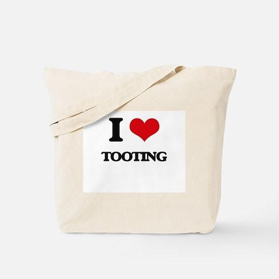 I love Tooting Tote Bag