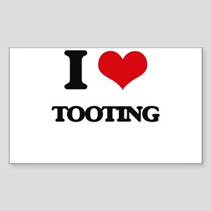 I love Tooting Sticker