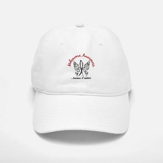 Melanoma Butterfly 6.1 Baseball Baseball Cap
