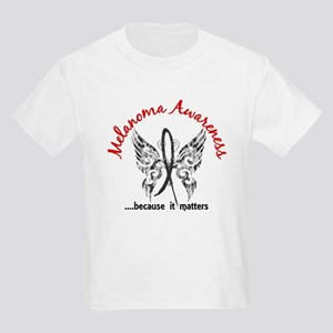 Melanoma Butterfly 6.1 Kids Light T-Shirt