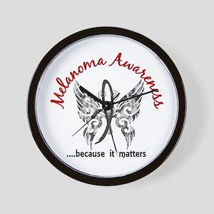 Melanoma Butterfly 6.1 Wall Clock
