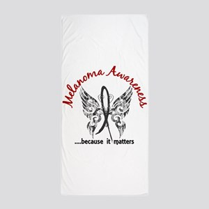Melanoma Butterfly 6.1 Beach Towel