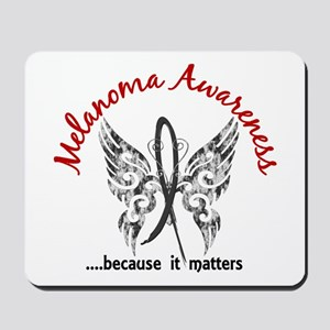 Melanoma Butterfly 6.1 Mousepad