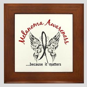 Melanoma Butterfly 6.1 Framed Tile