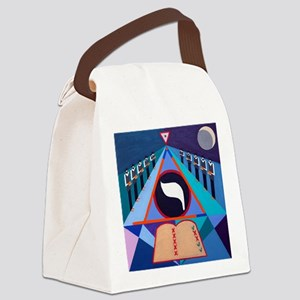 The Yod Letter Canvas Lunch Bag