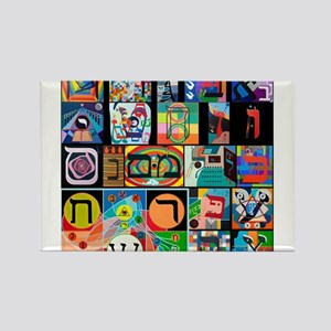 The Hebrew Alphabet Magnets