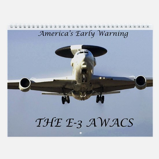 E-3 AWACS Wall Calendar