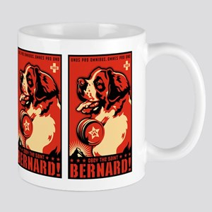 Obey the Saint Bernard! Propaganda Mug
