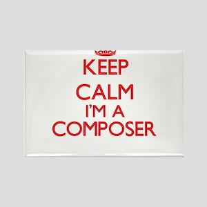 Keep calm I'm a Composer Magnets