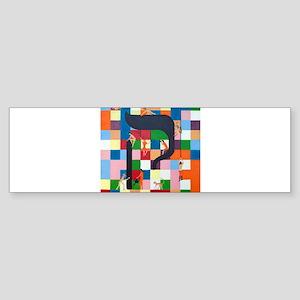 The Kouf Letter Bumper Sticker
