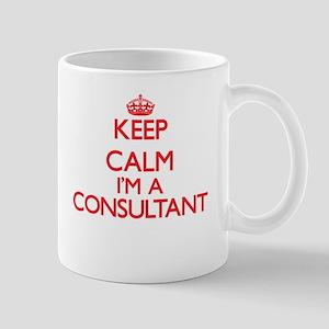 Keep calm I'm a Consultant Mugs