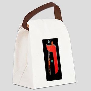 The Vav Letter Canvas Lunch Bag