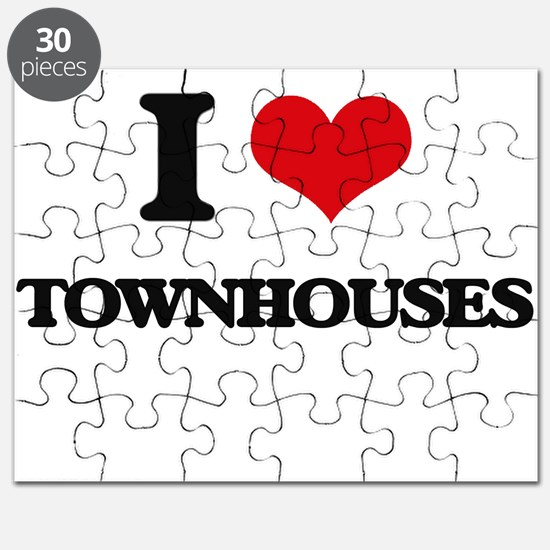 I love Townhouses Puzzle