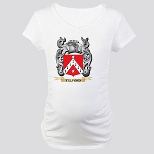 Telford Coat of Arms - Family Cr Maternity T-Shirt
