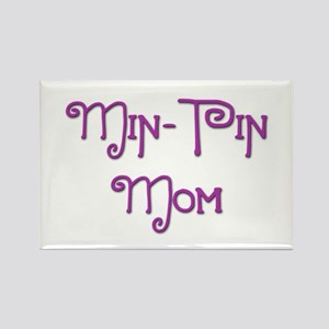 Min Pin Mom 20 Rectangle Magnet