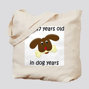 21 dog years 4 Tote Bag