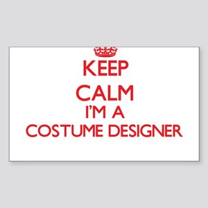 Keep calm I'm a Costume Designer Sticker