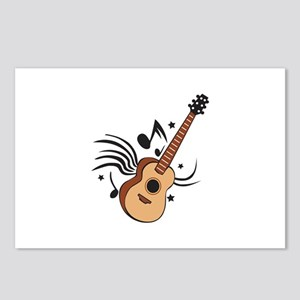 ACOUSTIC GUITAR MUSIC Postcards (Package of 8)