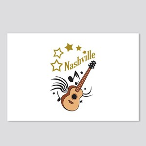 NASHVILLE MUSIC Postcards (Package of 8)