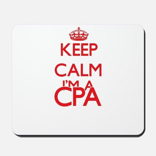 Keep calm I'm a Cpa Mousepad