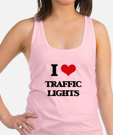I love Traffic Lights Racerback Tank Top