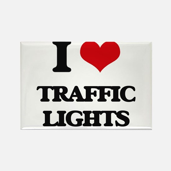 I love Traffic Lights Magnets