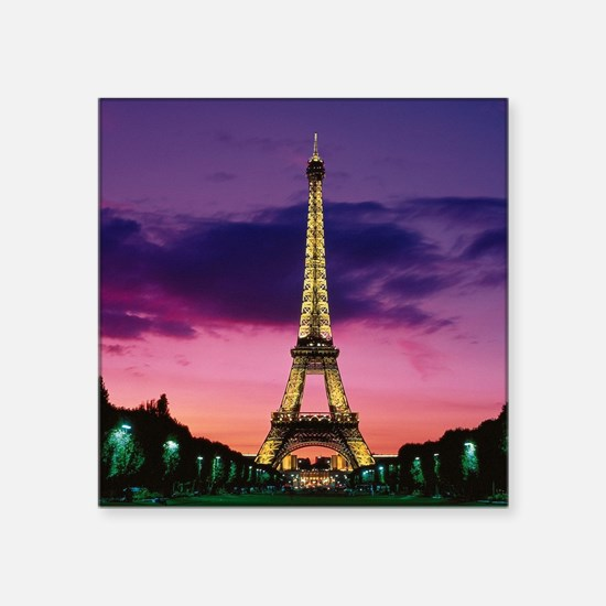 "Paris When It Sizzles Square Sticker 3"" x 3"""