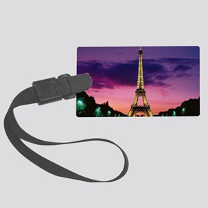 Paris When It Sizzles Large Luggage Tag