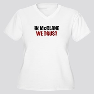 McClane Women's Plus Size V-Neck T-Shirt
