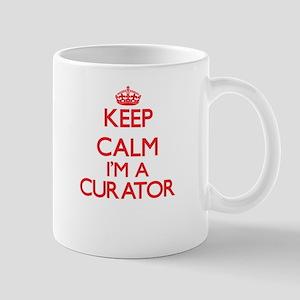 Keep calm I'm a Curator Mugs