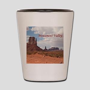 Monument Valley, Utah, USA 3 (caption) Shot Glass