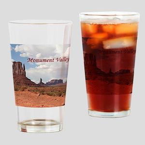 Monument Valley, Utah, USA 3 (capti Drinking Glass