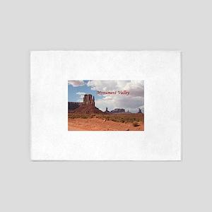 Monument Valley, Utah, USA 3 (capti 5'x7'Area Rug